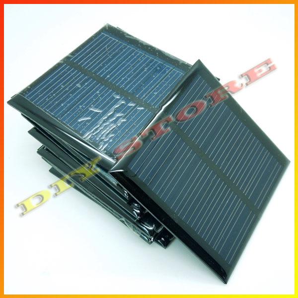 10pcs/lot solar panels 5.5v 90mA 0.6W mini solar cell 6.5x6.5 for Small power appliances drop shipping +free shipping-10000581(China (Mainland))