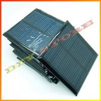 10pcs/lot solar panels  5.5v 90mA 0.6W mini solar cell 6.5x6.5 for Small power appliances drop shipping +free shipping-10000581