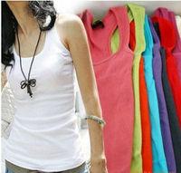 Free Shipping Summer hot selling shapers body women cotton shirt women's cheap sarafan tank Tops long sport plus size corsets