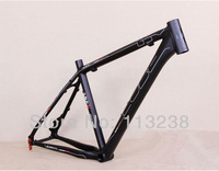 "2014 Top Quality Al7075 Cube Ltd ORFR MTB Mountain Bike Bicycle Frame Matte Black 26""*16""/18 Bike Parts"
