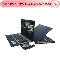 "15.6"" Notebook, Laptop with Intel Atom D2500 Dual Core  4GB RAM, 500GB HDD, DVD-RW, WIFI, Webcam"