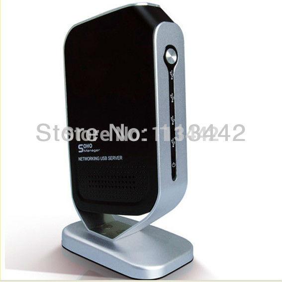 2013 cool high quality Free shipping 4 Port Networking USB 2.0 Print Server M4B Printer Share 4 USB HUB Devices 100Mbps Newest(China (Mainland))