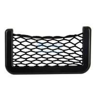 Cheap Automotive Mobile Phone Net Bag with Adhesive Visor Car Organizer Pockets Net B11 10710