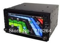 "free shipping!Window CE 6.0  6.2""HD touchscreen car dvd/car pc/car GPS system with DVD,GPS,3G/wifi,bluetooth,IPOD,TV,USB/SD,SWC"