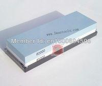 2000/5000# ombination knife sharpener stone, double sided white aluminum oxide grinding whetstone