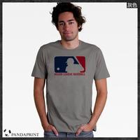 MLB Major League Baseball T-shirt men short sleeve cotton Lycra top new arrival Fashion Brand t shirt for men 2013 summer