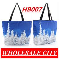 HOT!Summer  Women Beautiful Whitee Cedar Printed Handbag LAPTOP Ipad Shoulder Bag Wholesale HB007