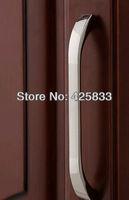 Free 96mm Furniture Stainless Steel Brushed Silver Handle Dresser Handles Furniture Hardware Closet Door Hardware for Dressers