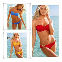 best feedback high quality fashion sexy with cup swimwear swimsuit Shoulder strap Bikini