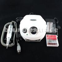 OPHIR 220V EU Plug 30000RPM Professional White Electric Nail Drill File Bits Machine Manicure Kit Nail Tools_KD143W(220V)