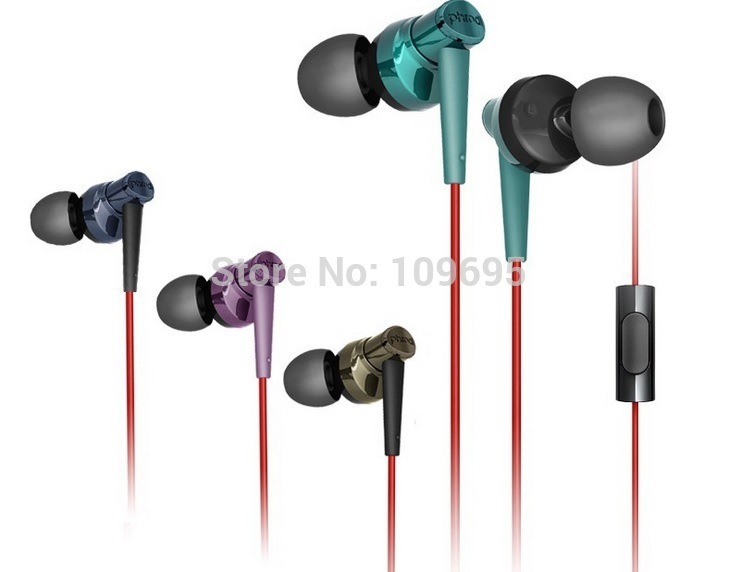 stereo sports hifi earphone headphones with microphone+adapter Subwoofer pro quality For Iphone Samsung XIAOMI JIAYU NOKIA(China (Mainland))