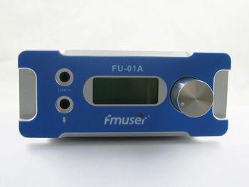 SDA-1W  Broadcast Fm Radio Transmitter Silver  Black Fm Radio Transmitter FM exciter