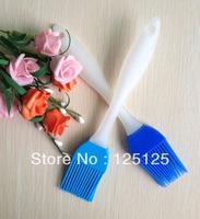 Free shipping 2PCS Silicone cake brush tools