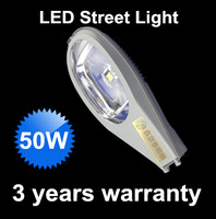 Free Shipping Road Lamp 50w LED Street Light Outdoor Waterproof 5000LM lighting fixture LED Street Light