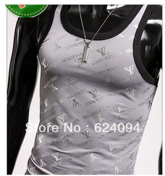 2013 new casual fashion vest T-shirt