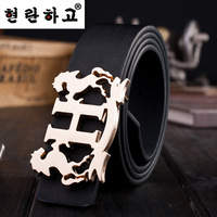Free shipping 2014 New Fashion Hot M High-end luxury PU Leather Corsets Belt For Women Fashion Men Belts Wide 3.2 cm Long 110 cm