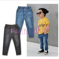 Free shipping 5pcs/lot fashion cool cotton denim boys jeans Kids fashion high quality Denim pants boy girl jeans
