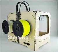 BRAND NEW Desktop Replicator ABS / PLA extrusion machine,digital 3D printer,double color available
