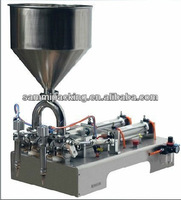 Double Heads paste and  Liquid Filling Machine 50-500ml