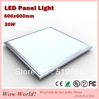 Top quality fashion design panel lights LED 600*600mm, 30W, 2700LM, AC85~265V/DC12V/DC24V input, CE ROHS PSE