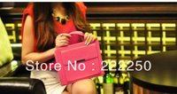 Handbag  briefcase style For iPad 2 / 3 / 4 case  cute 5 colour