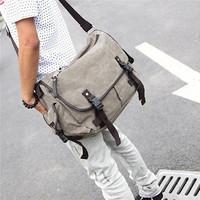 2013 canvas bag man bag messenger bag fashion bag student school bag shoulder bag big bag