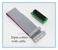 1pcs Raspberry pi cobbler +1pcs GPIO cable, pi kit breadboard kit
