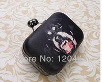 2014 new fashion retro  female bag new shoulder hand bag dinner bulldog oblique cross chain mobile phone packages whole sale