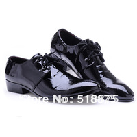 Free Shipping 2014  Formal Leather Trend Breathable Comfortable Shoes Man Dress Leather mens black and white dress shoes