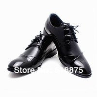 Free Shopping 2014 fashion men's genuine brown and black leather oxfords dress men spring  men wedding shoes