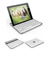 Aluminum Wireless Bluetooth Keyboard Case Cover For New iPad4 iPad3 ipad 2 Black
