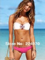 free shipping crystal Women's Bikini rhinestone Swimsuit diamond Swimwear New Arrival Bikinis VS Strappy Sexy for Women