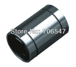 Free shipping LM8UU 8mm Linear Motion Ball Bearing Bush Bushing (20pcs/lot) wholesale $13(China (Mainland))