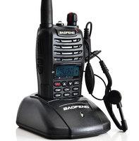 New Beofeng Walkie Talkie UV-B6 5W 99CH UHF VHF Dual band portable Ham CB Two-way Radio communicator interphone A1012A Fshow