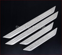 4pcs New Stainless Door Sill Scuff Plate for Toyota Camry 2007-2011