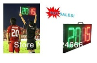 hign brightness led scoreboard football Stadium board,Football led Substitution board electronic signs digital soccer substitute