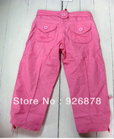 Ready stock !! 18M-5y bady girl's pants 100% cotton  woven children trousers toddler girl's  casual wears 2013 new style
