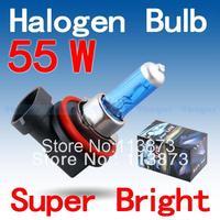 2pcs H11 Super Bright White Fog Halogen Bulb 55W Car Head Light Lamp parking car light source