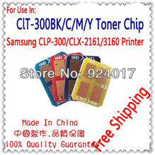 Toner Chip For Samsung CLP-300/CLX-2160/2161/3160 Printer,Reset Toner For Samsung CLP300 CLX2161 CLX2161 Chip,Free Shipping