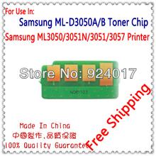 Toner Cartridge Chip For Samsung ML-3050/3051N/3051/3057 ND Printer,Use For Samsung ML-D3050A/XIL 3050 Toner Chip,Free Shipping