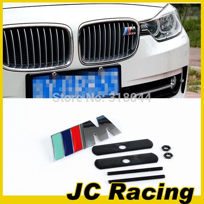 Free Shipping Metal M Style m3 m5 X1 X3 X5 X6 E36 E39 E46 E30 E60 E92 Car Sticker Emblem Badge for BMW Car Grill Car Badge Logo(China (Mainland))