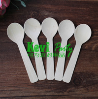 FedEx free shipping (15 colors + 5000pcs/lot) party tableware disposable tableware wooden spoon fork knife Disposable tableware
