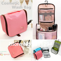 GB051 Korea Style big capacity High Quality Waterproof Cosmetic bag toilet kit / traveling wash bag,hanging kit
