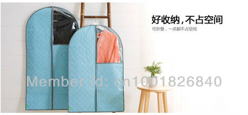 Free Shipping clothing bamboo Wholesale Bamboo Charcoal Non-woven Fabric Suit Dress Garment Bag Dust Covers Home Storage Bag set