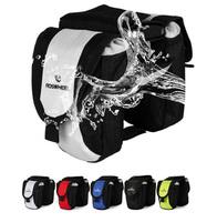 Bike bag  Saddle Cycling Bicycle Bag Panniers Frame Rack Tube Handlebar Bar Bag B39z6