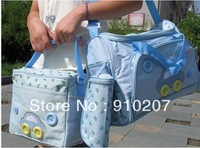 Hot sale! 1 set, Car Style Mama Mummy Bag Nappy Diaper Changing Bag Baby Item Bag, 4 colors