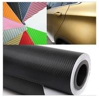 Free Shippin,100*30CM 3D Carbon Fiber Vinyl Car Wrapping Foil,Carbon Fiber Car Decoration Sticker,Hight Quality Car Sticker