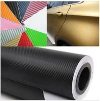 Free Shipping,127*400CM 3D Carbon Fiber Vinyl Car Wrapping Foil,Carbon Fiber Car Decoration Sticker,Hight Quality Car Sticker