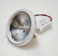 2pcs /Lot,Hot selling  SMD LED AR111  12W G53 AC85-265V,COB LED Spot light. Strandard  70w halogen.FREE SHIPPING