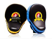 Hot Sale Muay Thai MMA Boxing Gloves Sandbag Punch Pads Hand Target Focus Training Circular Mitts for Kick Fighting